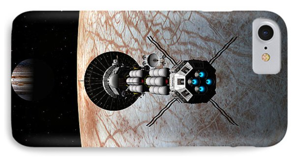 Europa Insertion IPhone Case by David Robinson