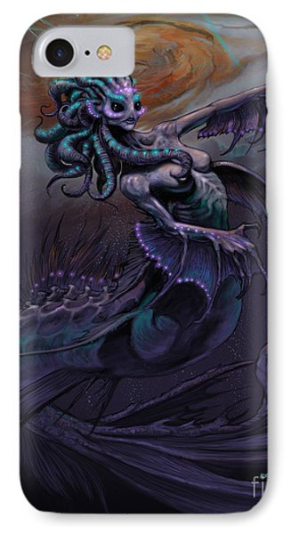 IPhone Case featuring the digital art Europa Mermaid by Stanley Morrison