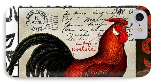 Europa Rooster II IPhone 7 Case by Mindy Sommers