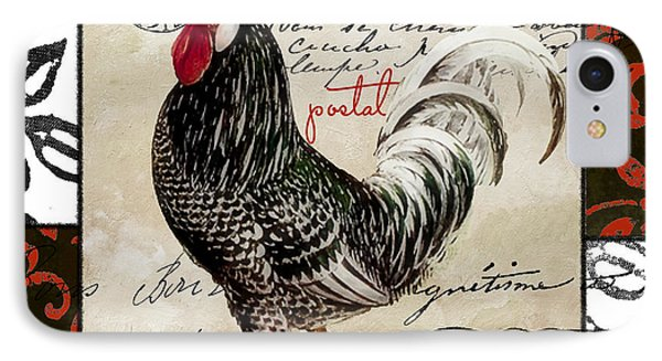 Europa Rooster IIi IPhone 7 Case by Mindy Sommers