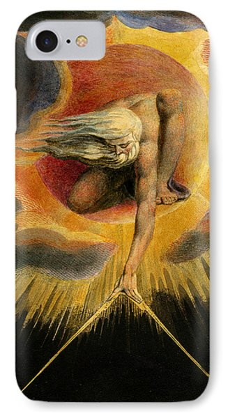 Europe A Prophecy IPhone Case by William Blake