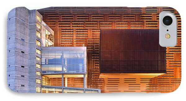Euskalduna Center Bilbao Spain IPhone Case by Marek Stepan