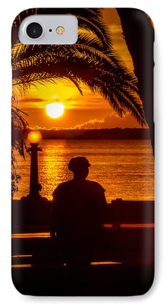 IPhone Case featuring the photograph Eustis Sunset by Christopher Holmes