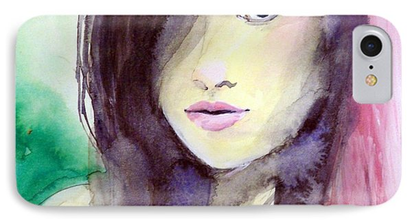 IPhone Case featuring the painting Olivia by Ed  Heaton