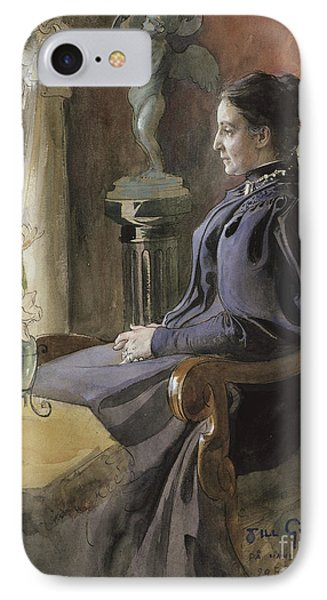 Eva Upmark, 1896  IPhone Case by Carl Larsson