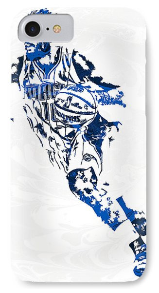 Evan Fournier Orlando Magic Pixel Art IPhone Case