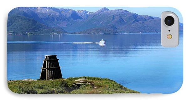 Evenes, Fjord In The North Of Norway IPhone Case by Tamara Sushko