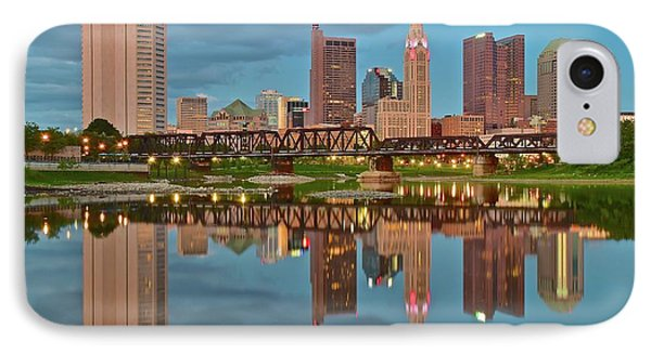 Evening Approaches In Columbus IPhone Case