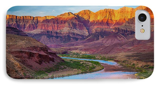 Mountain iPhone 7 Case - Evening At Cardenas by Inge Johnsson