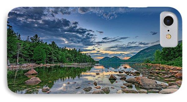 Evening At Jordan Pond IPhone Case by Rick Berk