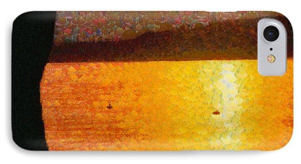 Evening At Lake - Da IPhone Case by Leonardo Digenio