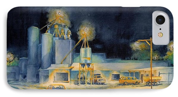 Evening At Lindner Feed And Mill IPhone Case