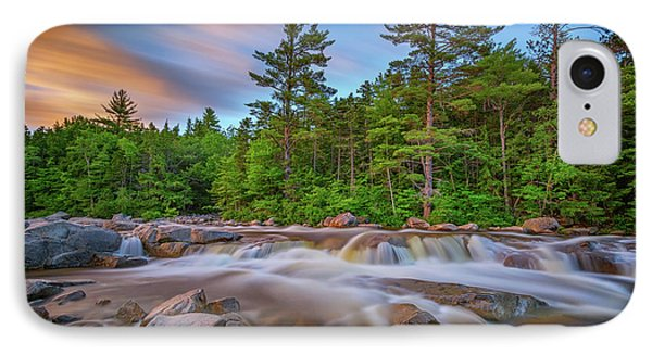 Evening At Lower Falls IPhone Case