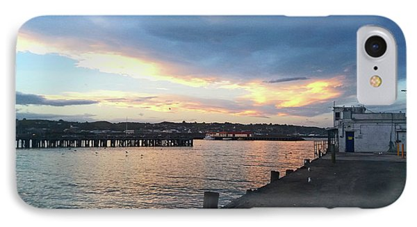 IPhone Case featuring the photograph Evening At The Bay by Nareeta Martin
