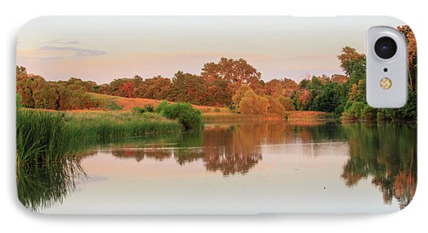 IPhone Case featuring the photograph Evening At The Lake by David Chandler