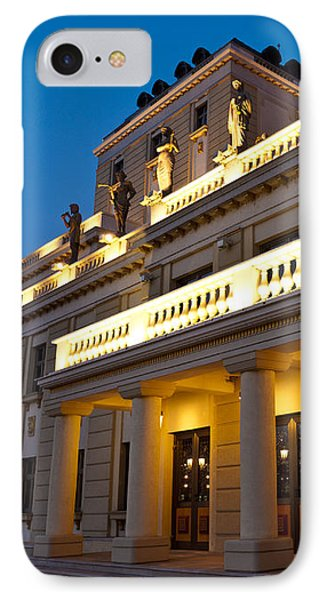 Evening At The National Theater Phone Case by Rae Tucker