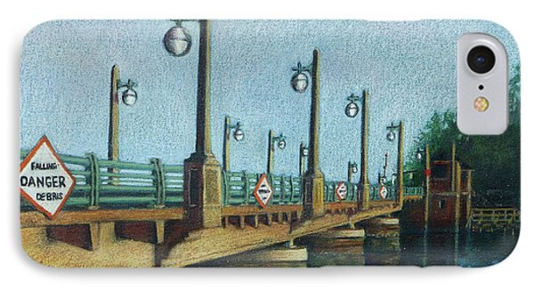 Evening, Bayville Bridge Phone Case by Susan Herbst