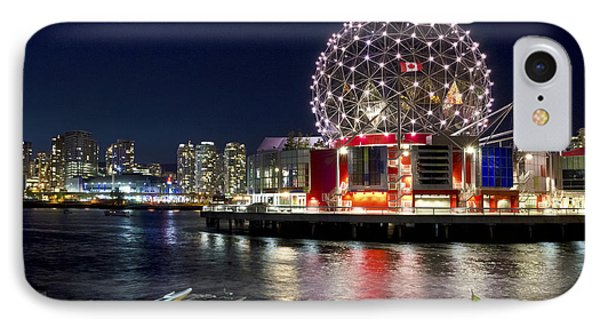 Evening By Science World Vancouver IPhone Case