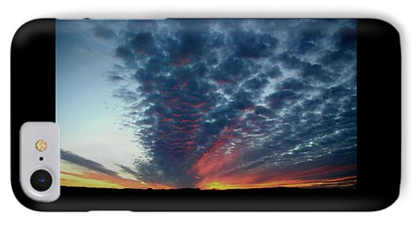Evening Sky In Kansas IPhone Case by Chris Berry