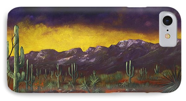 Evening Desert IPhone Case by Anastasiya Malakhova