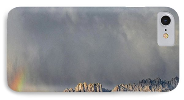 Evening Drama Over The Organs IPhone Case by Kurt Van Wagner