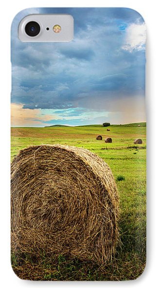 Evening Field IPhone Case by Donald Schwartz
