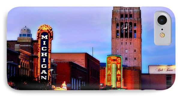Evening In Ann Arbor IPhone Case by Pat Cook