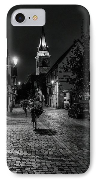Evening In Bergheim IPhone Case by Alan Toepfer