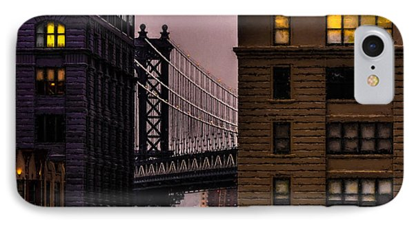 IPhone Case featuring the photograph Evening In Dumbo by Chris Lord