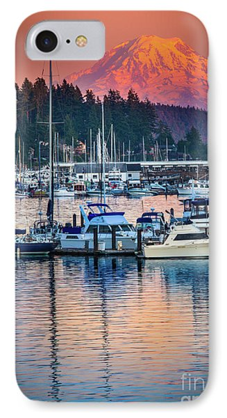 Evening In Gig Harbor IPhone Case by Inge Johnsson
