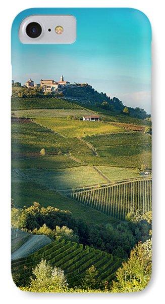 IPhone Case featuring the photograph Evening In Piemonte by Brian Jannsen