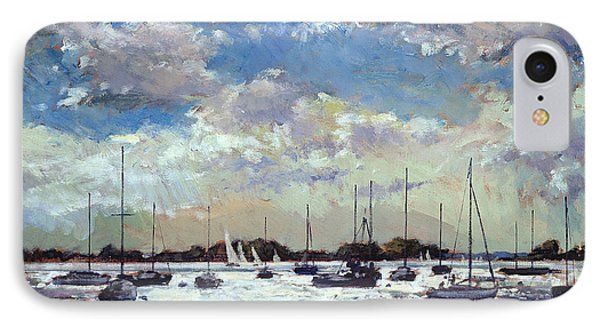 Evening Light - Gulf Of Morbihan IPhone Case