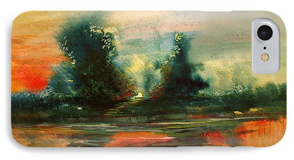 Evening Light IPhone Case by Allison Ashton