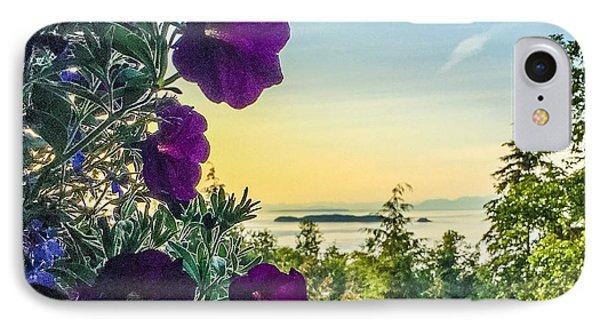 Evening Light On Orcas Island IPhone Case