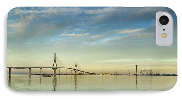 Evening Lights On The Bay Cadiz Spain IPhone Case by Pablo Avanzini