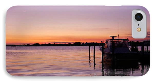 Evening Of Peace - Jersey Shore IPhone Case by Angie Tirado