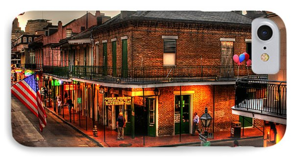 Evening On Bourbon IPhone Case by Greg and Chrystal Mimbs