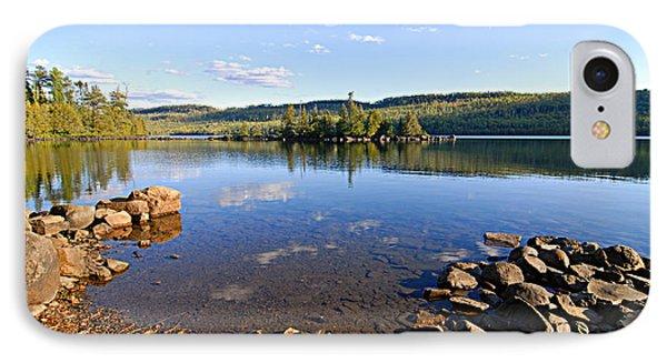 Evening On Cedar Lagoon Pine Lake IPhone Case