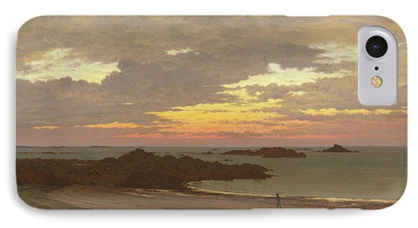 Evening On The Coast IPhone Case