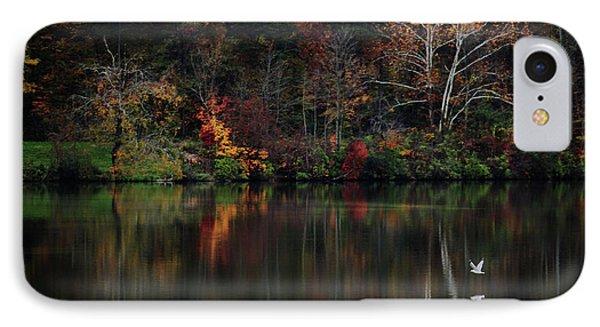 Evening On The Lake IPhone Case by Rowana Ray