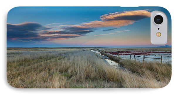 IPhone Case featuring the photograph Evening On The Plains by Fran Riley