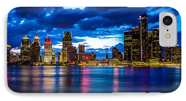 Evening On The Town IPhone Case by Cindy Lindow