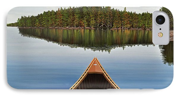 Evening Paddle  IPhone Case by Kenneth M  Kirsch