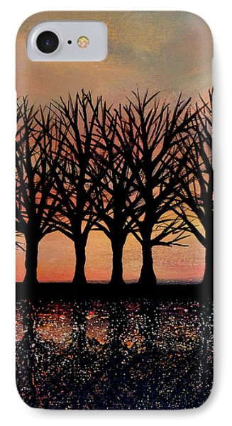 Evening Reflections IPhone Case