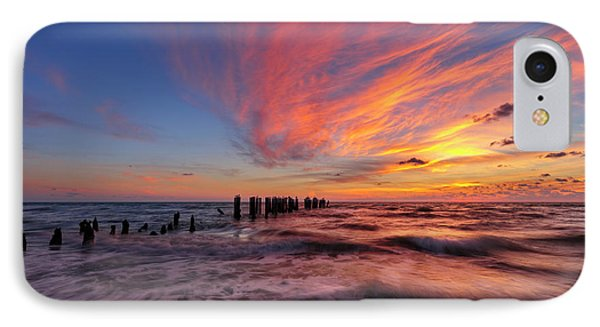 IPhone Case featuring the photograph Evening Rush by Mike Lang