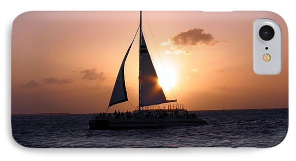 Evening Sail IPhone Case by Ania M Milo