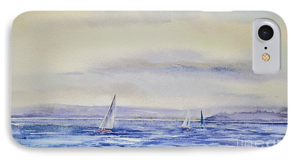 Evening Sail On Little Narragansett Bay IPhone Case