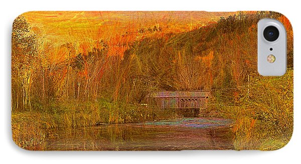 Evening Shadows II IPhone Case by John Selmer Sr