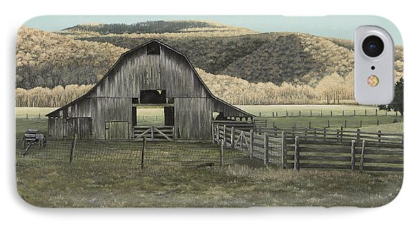 Evening Shadows In Boxley Valley Phone Case by Mary Ann King