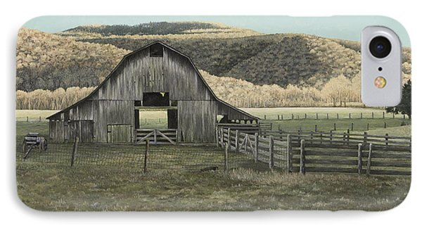 Evening Shadows In Boxley Valley IPhone Case